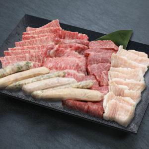 和牛焼肉ファミリーセット(1kg 4〜5人前)